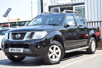 2014 NISSAN NAVARA 2.5 DCI TEKNA 4X4 SHR DCB 1d 188 BHP NO VAT ON THIS VEHICLE £11995.00