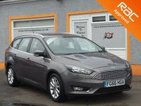 USED 2016 66 FORD FOCUS 1.5 TITANIUM TDCI 5d 118 BHP One Owner - Bluetooth - Voice control- sat nav enabled-