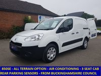 2013 PEUGEOT PARTNER 850 3 SEAT ATV WITH AIR CONDITIONING £5295.00