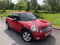 2009 MINI HATCH ONE 1.4 ONE 3d 94 BHP £3450.00