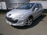 2008 PEUGEOT 308 1.6 SW SPORT HDI 5dr £3280.00