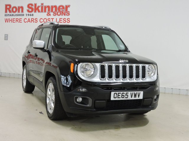 View our 2016 65 JEEP RENEGADE 1.6 M-JET LIMITED 5d 118 BHP