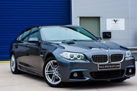 USED 2015 15 BMW 5 SERIES 2.0 520D M SPORT AUTO - SATELLITE NAVIGATION