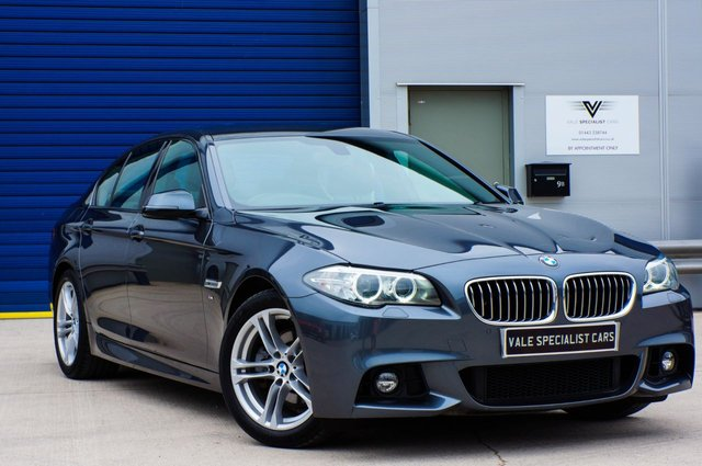 2015 15 BMW 5 SERIES 2.0 520D M SPORT AUTO - SATELLITE NAVIGATION