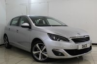 USED 2014 64 PEUGEOT 308 1.6 E-HDI ALLURE 5DR 114 BHP FULL SERVICE HISTORY + SAT NAVIGATION + REVERSE CAMERA + PARKING SENSOR + BLUETOOTH + CRUISE CONTROL + MULTI FUNCTION WHEEL + CLIMATE CONTROL + 17 INCH ALLOY WHEELS