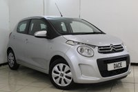 USED 2015 65 CITROEN C1 1.0 FEEL 5DR 68 BHP SERVICE HISTORY + BLUETOOTH + MULTI FUNCTION WHEEL + AUXILIARY PORT + DAB RADIO + AIR CONDITIONING