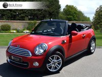 USED 2015 15 MINI CONVERTIBLE 1.6 COOPER 2d 122 BHP CHILI PACK CHILI PACK 1 OWNER