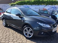 USED 2011 11 SEAT IBIZA 1.4 SE COPA 3d 85 BHP PRICE INCLUDES A 6 MONTH RAC WARRANTY, 1 YEARS MOT WITH 12 MONTHS FREE BREAKDOWN COVER