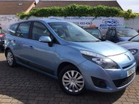 2010 RENAULT GRAND SCENIC 1.5 EXPRESSION DCI 5d 105 BHP £3995.00