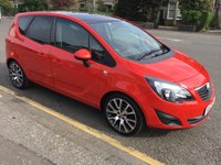 2012 VAUXHALL MERIVA 1.4 ACTIVE LIMITED EDITION 5d 99 BHP £5200.00