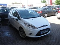 USED 2011 11 FORD FIESTA 1.4 TITANIUM 3d 96 BHP ANY PART EXCHANGE WELCOME, COUNTRY WIDE DELIVERY ARRANGED, HUGE SPEC