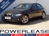 USED 2017 17 BMW 3 SERIES 2.0 330E SPORT 4d AUTO 181 BHP SAT NAV PARKING SENSORS DAB