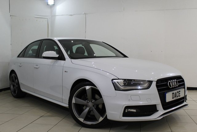 View our 2014 14 AUDI A4 2.0 TDI S LINE BLACK EDITION 4DR 174 BHP