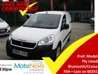2015 PEUGEOT PARTNER 850 L1 1.6 HDI Professional 92ps £5995.00