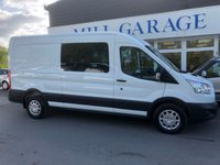 USED 2016 66 FORD TRANSIT 2.2 350 L3 H2 TREND 7 SEATER CREW VAN   125 BHP