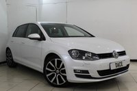 USED 2013 63 VOLKSWAGEN GOLF 2.0 GT TDI BLUEMOTION TECHNOLOGY 5DR 148 BHP SERVICE HISTORY + HEATED LEATHER SEATS + BLUETOOTH + PARKING SENSOR + CRUISE CONTROL + MULTI FUNCTION WHEEL + CLIMATE CONTROL + 17 INCH ALLOY WHEELS