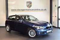 USED 2014 14 BMW 1 SERIES 2.0 120D XDRIVE SE 5DR 181 BHP + 1 OWNER FROM NEW + BLUETOOTH + SPORT SEATS + DAB RADIO + RAIN SENSORS + 16 INCH ALLOY WHEELS +