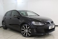 USED 2015 15 VOLKSWAGEN GOLF 2.0 GTD 5DR 181 BHP BLUETOOTH + PARKING SENSOR + CRUISE CONTROL + CLIMATE CONTROL + MULTI FUNCTION WHEEL + ALLOY WHEELS