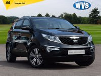 USED 2015 15 KIA SPORTAGE 1.7 CRDI 4 ISG 5d 114 BHP We are delighted to offer for sale this high specification 2015 Kia Sportage 1.7crdi 4 ISG in Black with a black full leather interior.