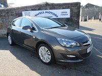 USED 2015 15 VAUXHALL ASTRA 1.4 EXCITE 5d 98 BHP