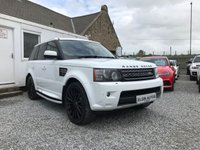 2012 LAND ROVER RANGE ROVER SPORT HSE ( Stealth Kit ) 3.0 SDV6 Auto ( 255 bhp )