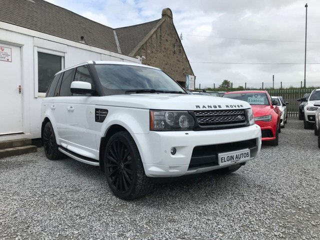 2012 12 LAND ROVER RANGE ROVER SPORT HSE ( Stealth Kit ) 3.0 SDV6 Auto ( 255 bhp )