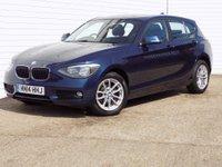 2014 BMW 1 SERIES 2.0 116D SE 5d 114 BHP £8489.00