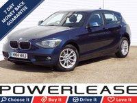 USED 2014 14 BMW 1 SERIES 2.0 116D SE 5d 114 BHP 20 POUND TAX SAT NAV DAB