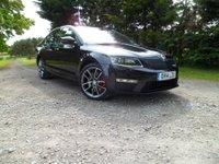 2014 SKODA OCTAVIA 2.0 VRS TDI CR DSG 5d AUTO 181 BHP £13490.00