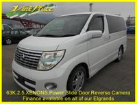USED 2005 05 NISSAN ELGRAND  Highway 2.5 Star,Phase 2, Automatic,8 Seats,Only 63k +63K+POWER SLIDE DOOR+XENONS+