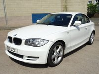 USED 2011 11 BMW 1 SERIES 2.0 118D SPORT 2d 141 BHP BLUETOOTH +   STOP / START +  TRACTION CONTROL +   FULL YEAR MOT +  AUX CONNECTION +