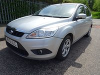 USED 2011 61 FORD FOCUS 1.6 SPORT TDCI 5d 107 BHP FULL YEAR MOT +  PARKING SENSORS +   AUX CONNECTION +  HEATED FRONT SCREEN  ++  AIR CONDITIONING +