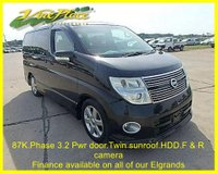USED 2008 57 NISSAN ELGRAND  Highway 2.5 Star Phase 3,Automatic,8 Seats,86K.Sunroof, 2 Power Doors +86K+PHASE 3 CAR+TWIN SUNROOF+TWIN POWER DOOR+