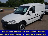 2011 VAUXHALL COMBO DIRECT FROM THE RSPB WITH AIR CON & ELECTRIC WINDOWS £3895.00