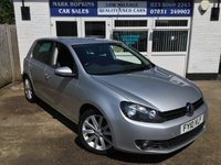 USED 2010 10 VOLKSWAGEN GOLF 2.0 GT TDI DSG 5d AUTO 60K FSH 2OWNERS CRUISE BLUETOOTH £140/YR TAX EXCELLENT CONDITION