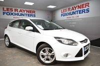 2014 FORD FOCUS 1.6 ZETEC 5d AUTO 124 BHP £8299.00