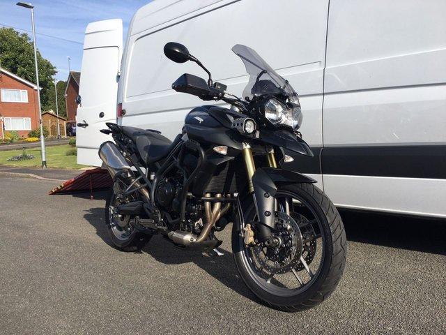 2012 12 TRIUMPH TIGER 800cc