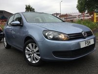 USED 2011 61 VOLKSWAGEN GOLF 1.6 MATCH TDI 5d 103BHP FSH+2KEYS+ALLOYS+AC+CD+MEDIA+