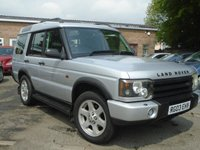 2003 LAND ROVER DISCOVERY 2.5 TD5 ES 5STR 5d AUTO 137 BHP £SOLD
