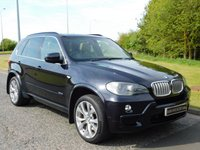 USED 2008 58 BMW X5 3.0 SD M SPORT 5d AUTO 282 BHP 7 SEATS, REAR DVD, PAN ROOF
