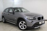 USED 2010 60 BMW X1 2.0 XDRIVE20D SE 5DR AUTOMATIC 174 BHP PARKING SENSOR + MULTI FUNCTION WHEEL + CLIMATE CONTROL + AUXILIARY PORT + RADIO/CD + 17 INCH ALLOY WHEELS