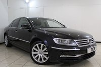 USED 2011 61 VOLKSWAGEN PHAETON 3.0 V6 TDI 4MOTION SWB 4DR AUTOMATIC 237 BHP HEATED LEATHER SEATS + SAT NAVIGATION + PARKING SENSOR + BLUETOOTH + CRUISE CONTROL + CLIMATE CONTROL + MULTI FUNCTION WHEEL + 17 INCH ALLOY WHEELS