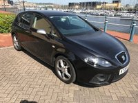 USED 2008 08 SEAT LEON 2.0 FR TDI 5d 168 BHP VERY LOW MILEAGE! FULL SERVICE HISTORY with CAMBELT AND WATER PUMP CHANGED!