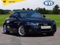 USED 2013 AUDI TT 2.0tdi Sport Quattro A great looking and well cared for 2013 Audi TT 2.0tdi Quattro Sport coupe in black with a pale grey part leather sports interior, complete with service history and 2 keys.