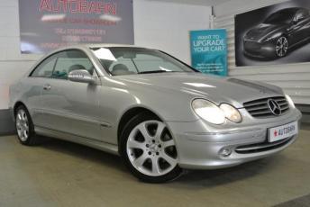 2004 MERCEDES-BENZ CLK 2.6 CLK240 ELEGANCE 2d AUTO 170 BHP £SOLD