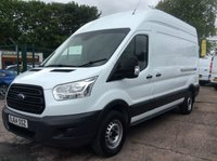 USED 2014 64 FORD TRANSIT LWB 2.2 350 H/R 124 BHP 1 OWNER FSH NEW MOT  FREE 6 MONTH AA WARRANTY WITH RECOVERY AND ASSIST SPARE KEY BLUETOOTH ELECTRIC WINDOWS 6 SPEED TOW BAR