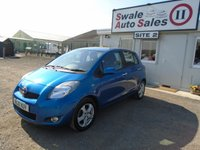 USED 2010 10 TOYOTA YARIS 1.3 TR VVT-I 5d 99 BHP £21 PER WEEK NO DEPOSIT, SEE FINANCE LINK BELOW