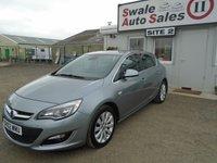 2012 VAUXHALL ASTRA 1.6 ELITE 5d AUTO 115 BHP £6595.00