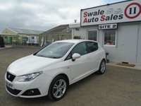 USED 2011 61 SEAT IBIZA 1.4 SE COPA 5d 85 BHP £29 PER WEEK NO DEPOSIT, SEE FINANCE LINK BELOW