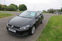 USED 2014 64 VOLKSWAGEN GOLF 1.6 SE TDI BLUEMOTION TECHNOLOGY DSG 5d AUTO 103 BHP Automatic,Alloys,Climate Control,Cruise Control,F.S.H